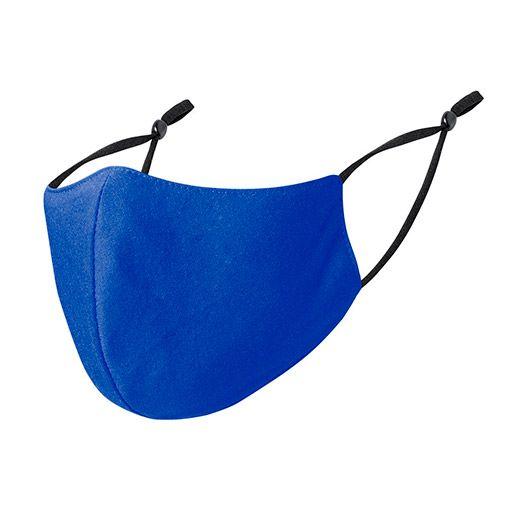Mascarillas higiénicas reutilizables, ajustables, azul