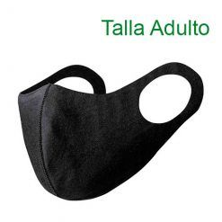Mascarillas higiénicas reutilizables, Soft Shell, negro