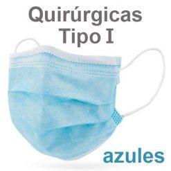 Mascarillas quirúrgicas tipo I