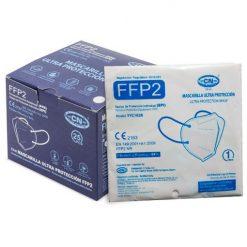 Mascarillas FFP2, caja y embolsado individual
