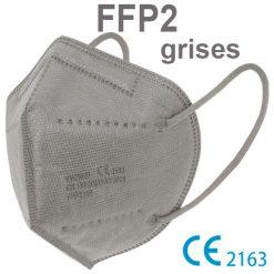Mascarillas FFP2 grises, con marcado CE