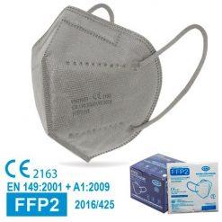 Mascarillas FFP2 grises, con marcado CE, normativa
