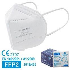 Mascarillas FFP2 blancas, con marcado CE, normativa