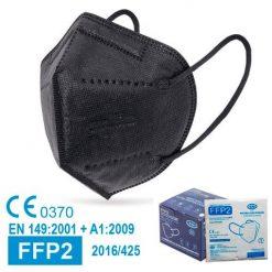 Mascarillas FFP2 negras, con marcado CE, normativa