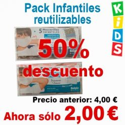 Oferta pack infantiles