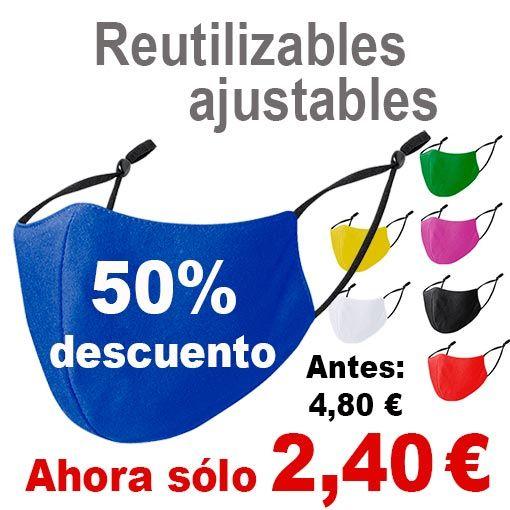 Oferta reutilizables ajustables